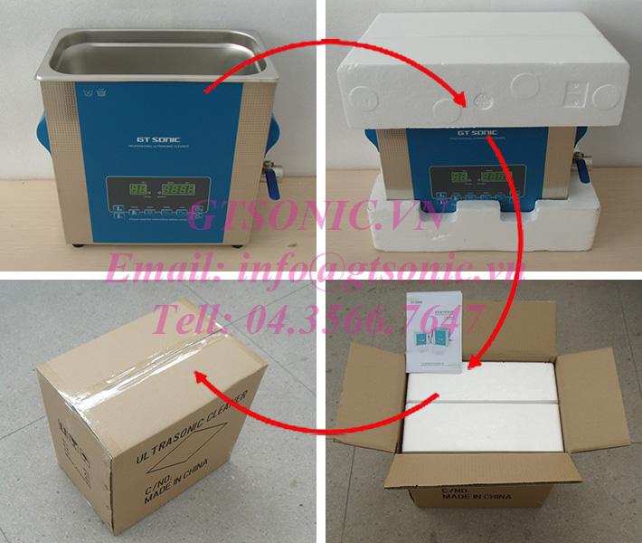 bể rửa siêu âm 6 lít phòng thí nghiệm